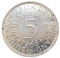 5 марок 1965 года