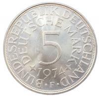 5 марок 1974 года