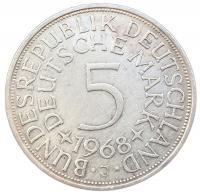 5 марок 1968 года