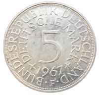 5 марок 1967 года