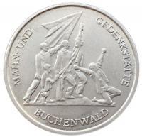 10 марок 1972 года Мемориал Бухенвальд