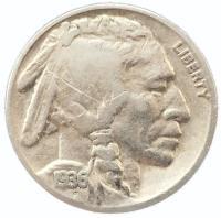 США 5 центов 1936 года