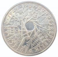 10 марок 1989 года 40 лет ФРГ