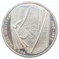 10 марок 1989 года Тевтонский Орден