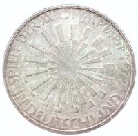 10 марок 1972 года Олимпиада в Мюнхене - Эмблема