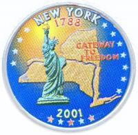 25 центов 2001 года