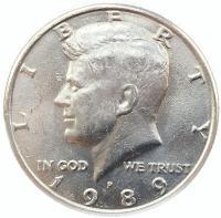 50 центов 1989 года Кеннеди