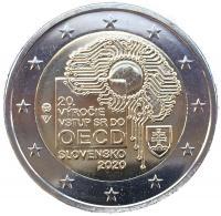 Словакия 2 евро 2020