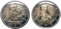 Люксембург 2 евро 2020 Рождение Принца Чарльза