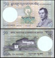 Бутан 10 нгултрум 2013 года