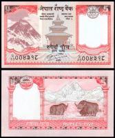 Непал 5 рупий 2010 года