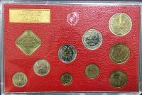 Годовой Набор Монет СССР 1974 года