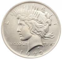 доллар 1922 года