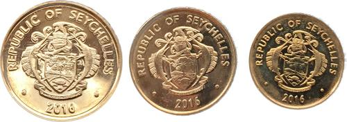 Сейшельские Острова Набор Монет 2016