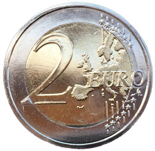 Кипр 2 Евро 2020 30 лет Кипрскому Института Неврологии и Генетики