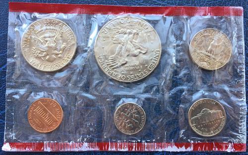 США Годовой Набор Монет 1977 года D