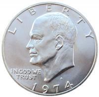 1 доллар 1974 года S