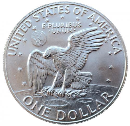 США 1 доллар 1976 года S