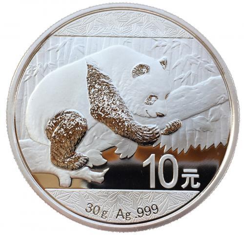 панда 10 юаней