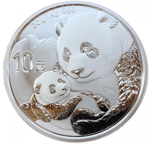 Китайская Панда 10 Юаней