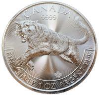 Канада 5 долларов 2016 Пума