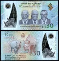 Намибия 30 долларов 2020 года