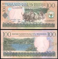 Руанда 100 франков 2003 года