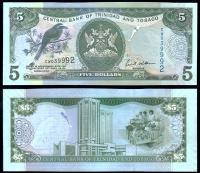 Тринидад и Тобаго 5 доллар 2006 года