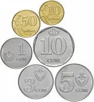 Киргизия Набор Монет 2008-2009