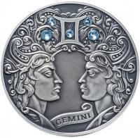 Монета Беларусь 20 рублей 2014 Близнецы