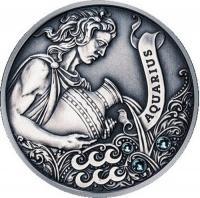 Монета Беларусь 20 рублей 2013 Водолей