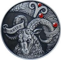 Монета Беларусь 20 рублей 2014 Овен