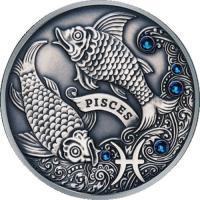 Монета Беларусь 20 рублей 2013 Рыбы