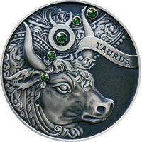 Монета Беларусь 20 рублей 2014 Телец