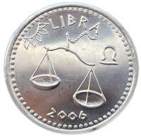Монета Сомали 10 шиллингов 2006 Весы