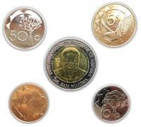 Намибия Набор Монет 2010-2015 из 5 монет