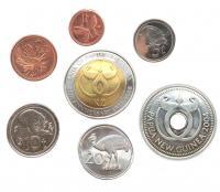 Папуа-Новая Гвинея Набор Монет 2001-2008