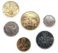Набор Монет Свазиленд  2015 из 6 монет