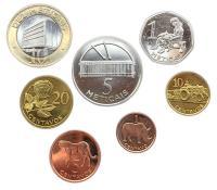 Набор Монет Мозамбика 2006 года 7 штук