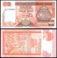 Банкнота Шри-Ланки 100 рупий 2006 года