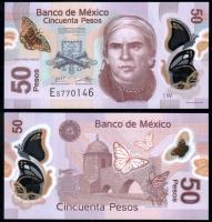 Банкнота Мексики 50 песо 2013-2017 Полимер