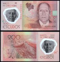 Полимерная банкнота Кабо-Верде 200 эскудо 2014