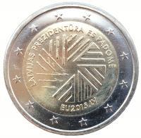 Латвия 2 Евро 2015 Представительство Латвии в ЕС