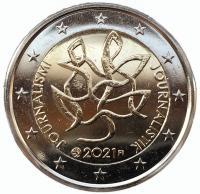Финляндия 2 евро 2021 Журналистика