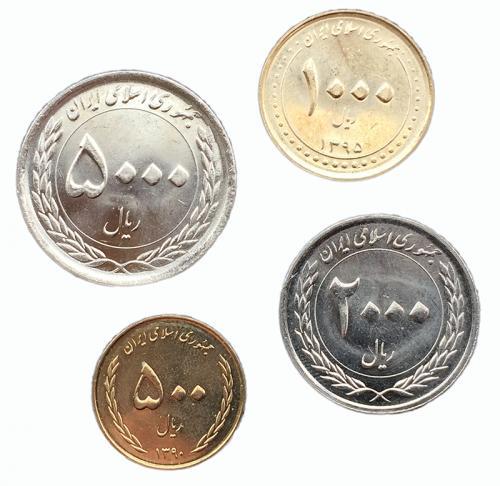 Иран Набор Монет 2003-2011 года 4 монеты