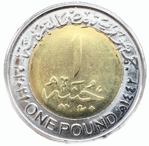 Египет 1 фунт 2021 года Полиция