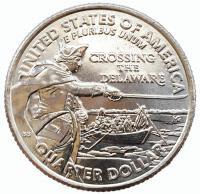 США 25 центов (квотер) 2021 Генерал Джордж Вашингтон