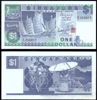Сингапур 1 доллара 1987 года