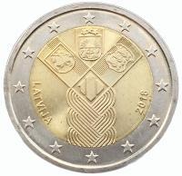 2 Евро 2018 100 лет Государствам Балтики