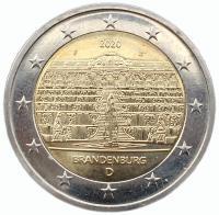 Германия 2 Евро 2020 Бранденбург
